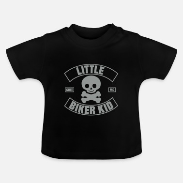 Kids Biker Little Biker Kid Cute MC - Baby T-Shirt