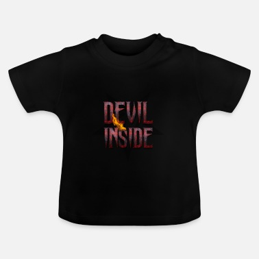 Devil  DEVIL INSIDE - Satan / Horror / Devil - Baby T-Shirt