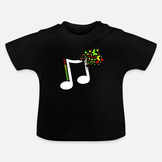 Rasta Baby Clothes - High Grade - Baby T-Shirt black