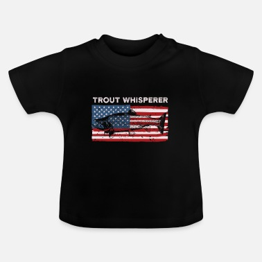 Winter Vissen Trout Whisperer T Shirt Retro Lucky Trout Whispere - Baby T-shirt