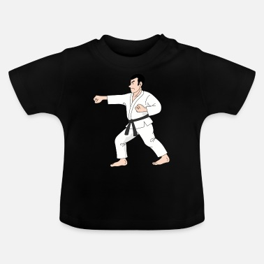 karate martial arts thai boxing ninja kickboxing55 - Baby T-Shirt