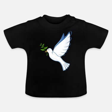 Dove Of Peace dove, peace dove, peace - Baby T-Shirt