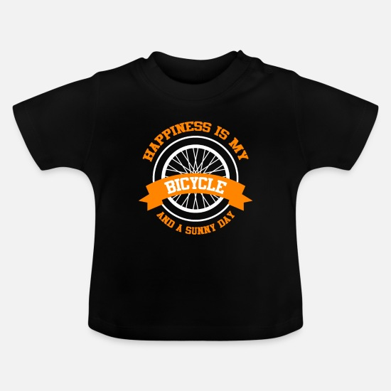 Gift Idea Baby Clothes - Bike luck - Baby T-Shirt black