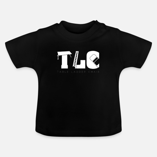 Catcher Baby Clothes - TLC Wrestling Match Gift Tables Ladders Chairs - Baby T-Shirt black