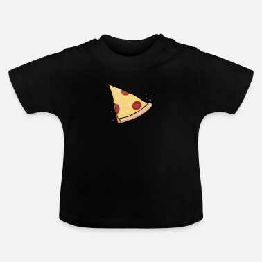 Baby Pizza Baby Partnerlook Kind Mama Papa Geschenk - Baby T-Shirt