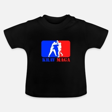Wingtsun Krav Maga fight self-defense Israel gift - Baby T-Shirt