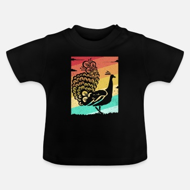Vintage peacock - Baby T-Shirt