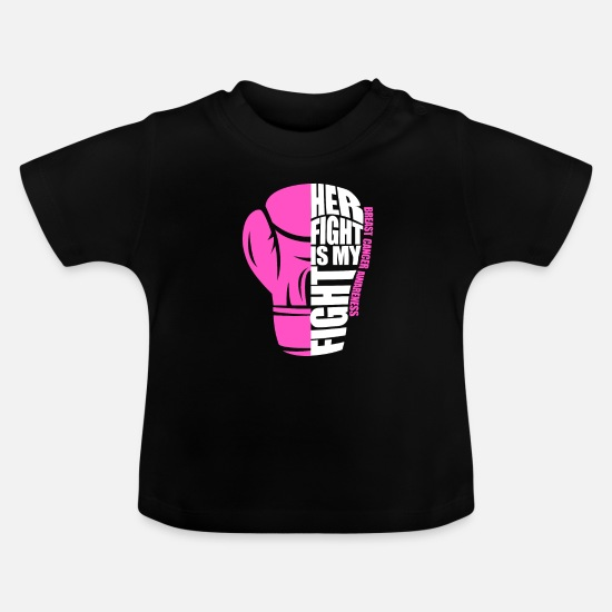 Fuck Baby Clothes - breast cancer - Baby T-Shirt black