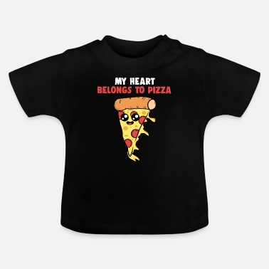 Italy Lovers Pizza valentine italy lovers - Baby T-Shirt