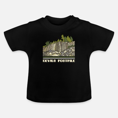 Devils Postpile Shirt National Monument Nature Sou - Baby T-Shirt
