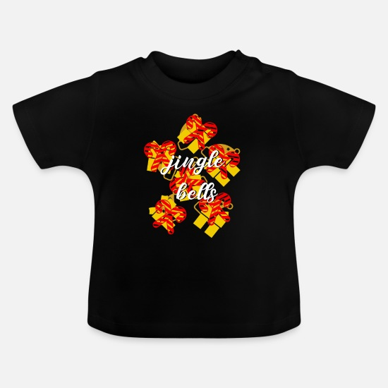 Christmas Baby Clothes - Christmas - Baby T-Shirt black
