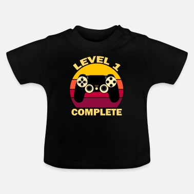 Birthday LEVEL 1 COMPLETE Vintage Gift - Baby T-Shirt