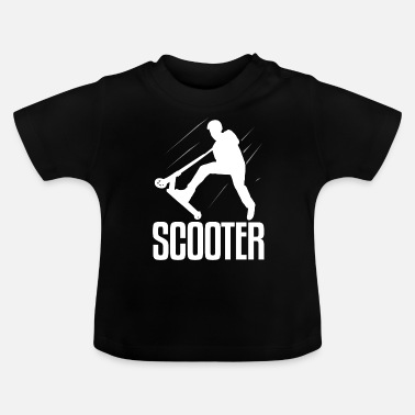 Scooter Scooter Scooter - Camiseta bebé