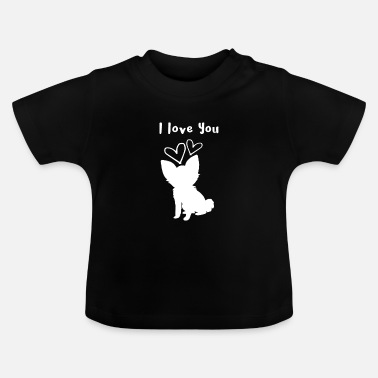 Dog Friend Dog - dog i love you - Baby T-Shirt