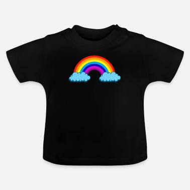 Regenboog Rainbow Gay Lesbian Peace Christopher Street Day - Baby T-shirt