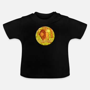 Jungle Lion jungle regenwoud jungle cadeau - Baby T-shirt