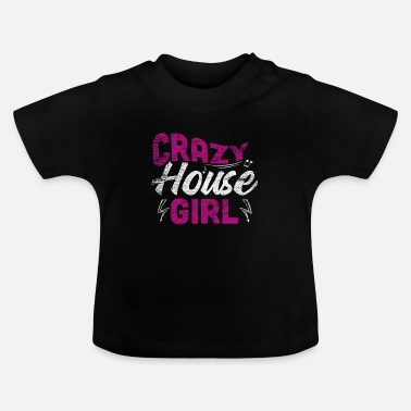 Música House House music girl - Camiseta bebé