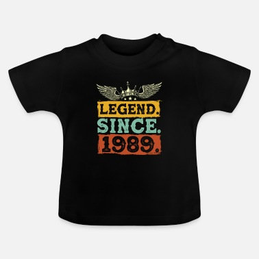 Legende Legend sinds 1989 - Baby T-shirt