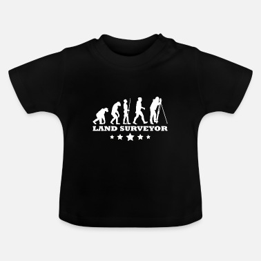 Evolution Surveyor Surveyor - Evolution - Baby T-shirt