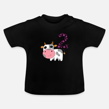 Boy Cow Second Class Second Two Gift Star - Baby T-Shirt