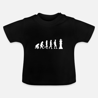 Schach Schach Evolution - Baby T-Shirt