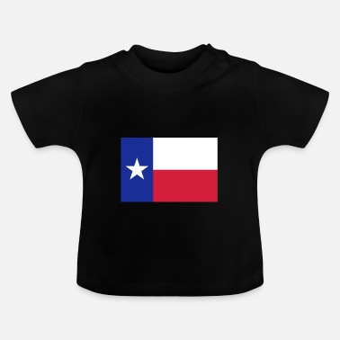 State Flag Texas - Baby T-Shirt