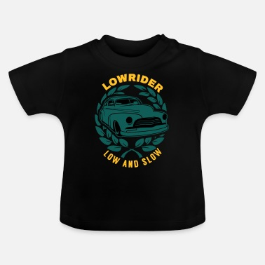Opa Lowrider Low And Slow Geschenk - Baby T-Shirt