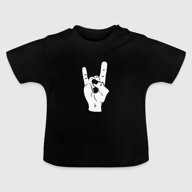 Rock On Devil Horns - Baby T-Shirt