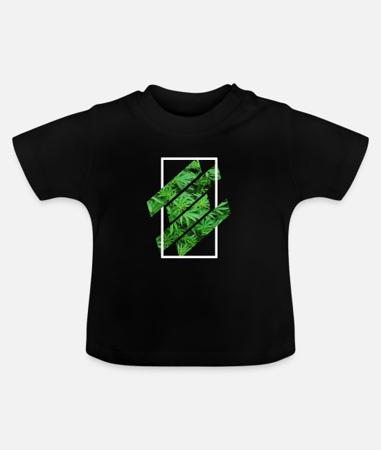 Hemp Baby T-Shirts - cannabis hemp weed gift - Baby T-Shirt black