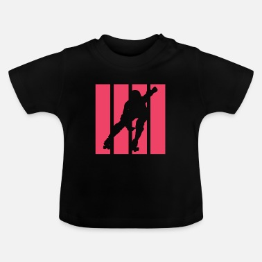 Rolig Roller Derby Roll Baby Roll - Baby T-shirt
