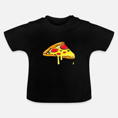 Partner Stykke - Fast Food - pizza salami partner skjorte - Baby T-shirt