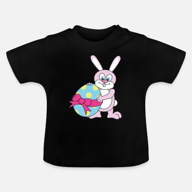 Crutches Easter easter bunny - Baby T-Shirt
