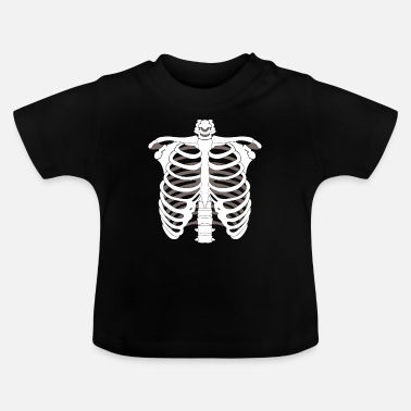 Skeleton Skeleton skeleton Halloween bone skeleton skeleton - Baby T-Shirt