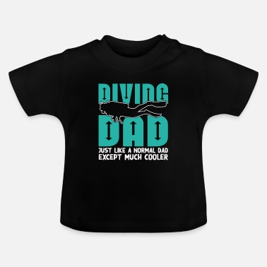Dykker Cool dykkende far - Baby T-shirt