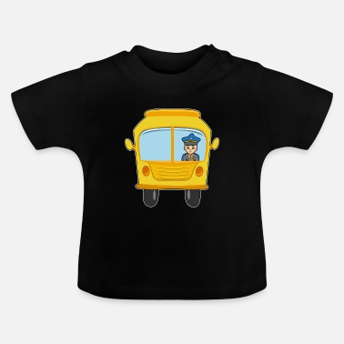 Bus Bus cartoon kawaii child motif car gift idea - Baby T-Shirt