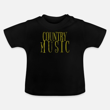 Country Country musik - T-shirt baby
