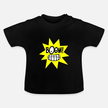 Explosion Boom! Comic Explosion! - Baby T-shirt