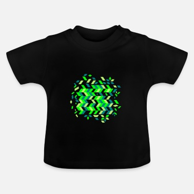 Pattern A herringbone pattern - Baby T-Shirt