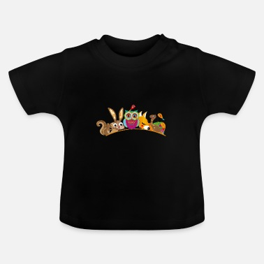 Forest Animal eight forest animals - Baby T-Shirt