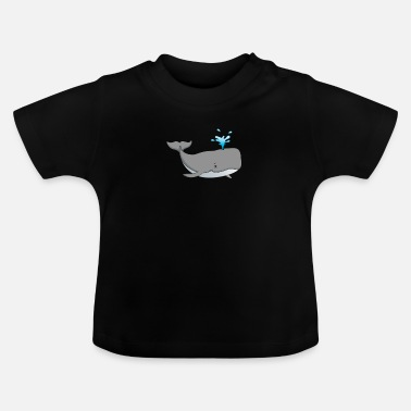 Presenteren Whale Animal Under Water Creature Killer Whale - Baby T-shirt