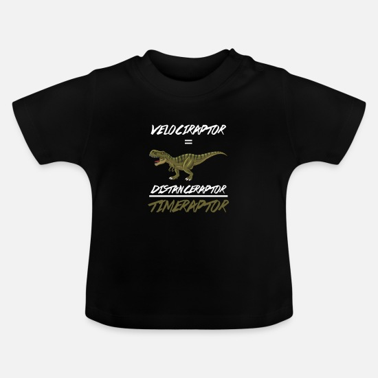 Remote Baby Clothes - Science Physics Scientist Geometry Gift Velocity - Baby T-Shirt black