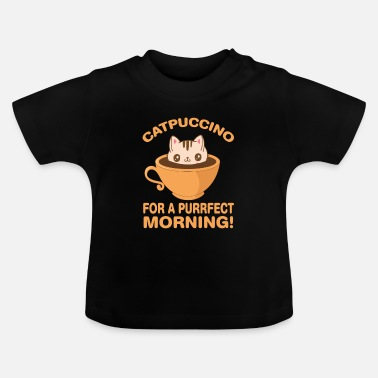 Cappuccino Cat cappuccino - Baby T-Shirt