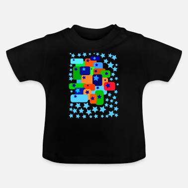 Graphic Art graphic art star - Baby T-Shirt