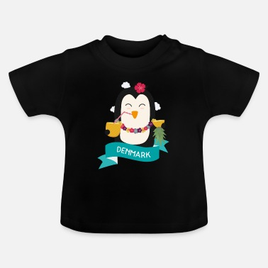 Vacation Penguin Hawaii from DENMARK Gift - Baby T-Shirt