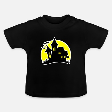 House Halloween House Haunted House - Baby-T-shirt