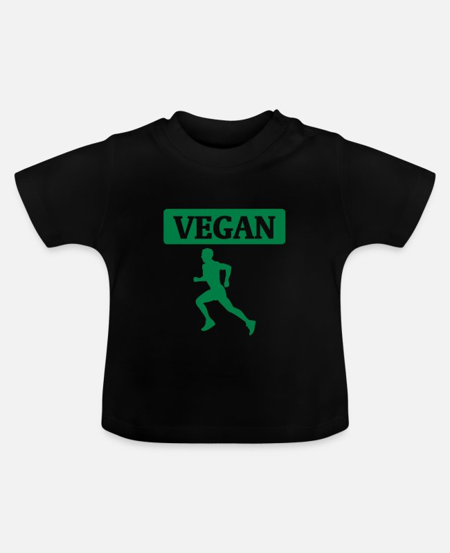 Bless You Baby T-Shirts - Veganes Workout - Baby T-Shirt black