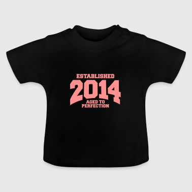 Established aged to perfection established 2014 (fr) - T-shirt Bébé