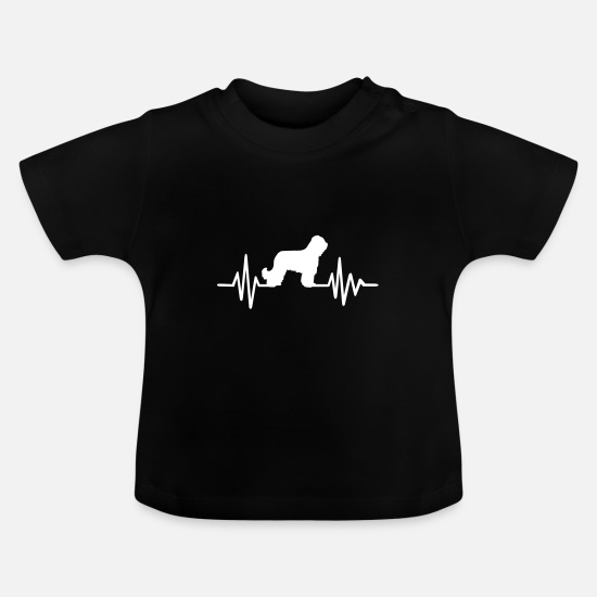 Race Baby Clothes - Briard - Baby T-Shirt black