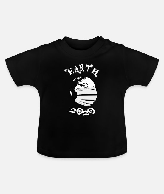 Earth Baby T-Shirts - Earth 2020 - gift - Baby T-Shirt black