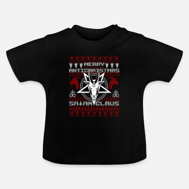 Claus Goda Antichrists Satan Claus Ugly Christmas - Baby-T-shirt
